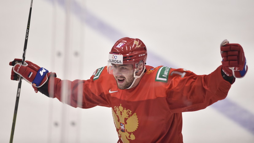 Соколов оформил дубль в матче со Швецией в полуфинале МЧМ по хоккею