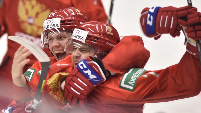 Сборная России по хоккею впервые за четыре года вышла в финал МЧМ