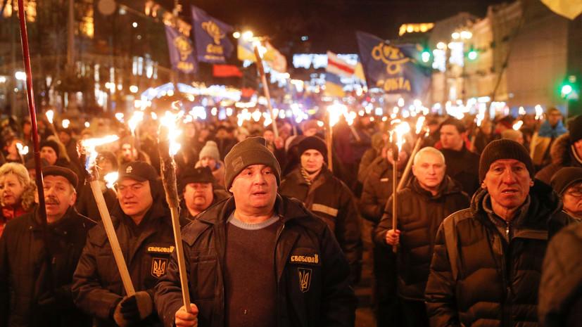 «Свои» герои: в МИД Украины ответили на заявление послов Польши и Израиля о прославлении Бандеры