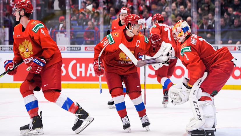 Ротенберг считает, что сборной России по хоккею надо сохранять спокойствие перед финалом МЧМ