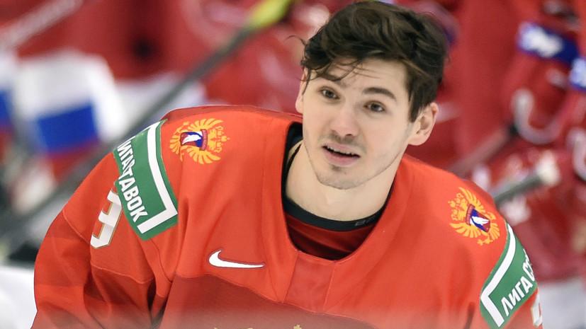 Хоккеист Марченко о победе над Швецией: Морозова в раздевалке на руках носили