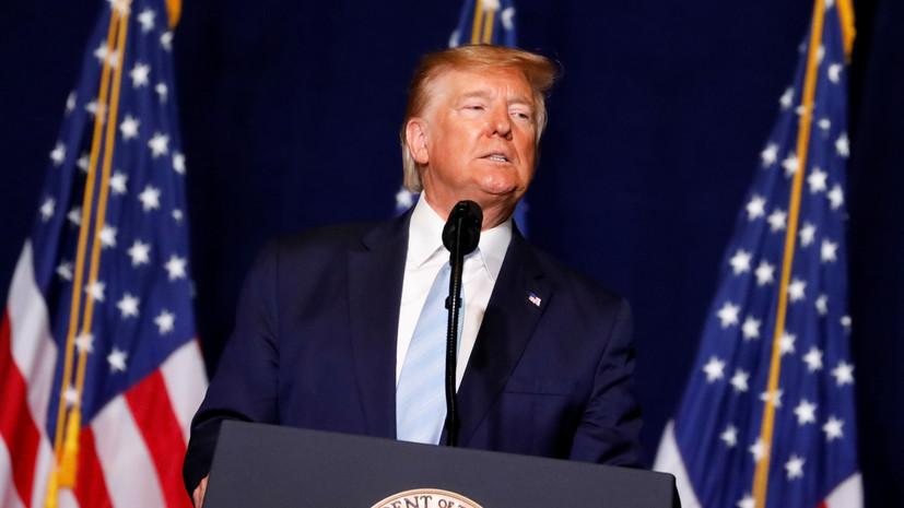Трамп пригрозил Ирану ударом американской военной техники за $2 трлн