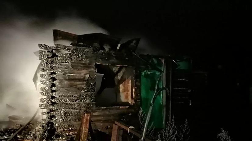Три человека погибли при пожаре в Пензенской области