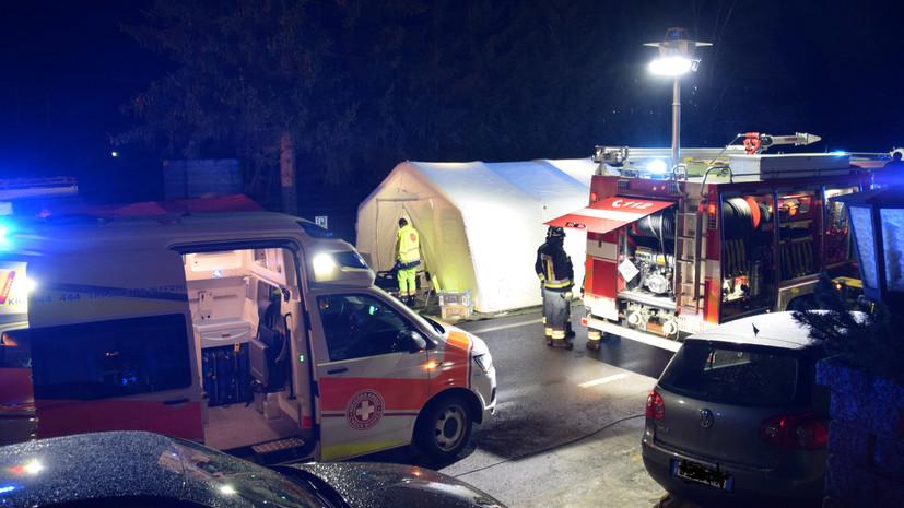 Шесть человек погибли в результате наезда автомобиля на толпу в Италии