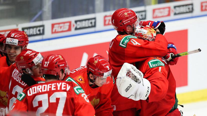 Сборная России в пятый раз уступила Канаде в финале МЧМ