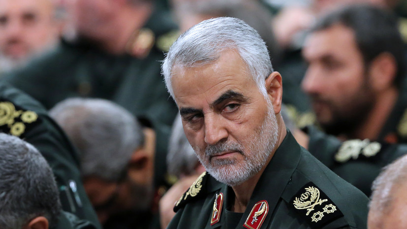Ирак не давал разрешения на удар США по Сулеймани