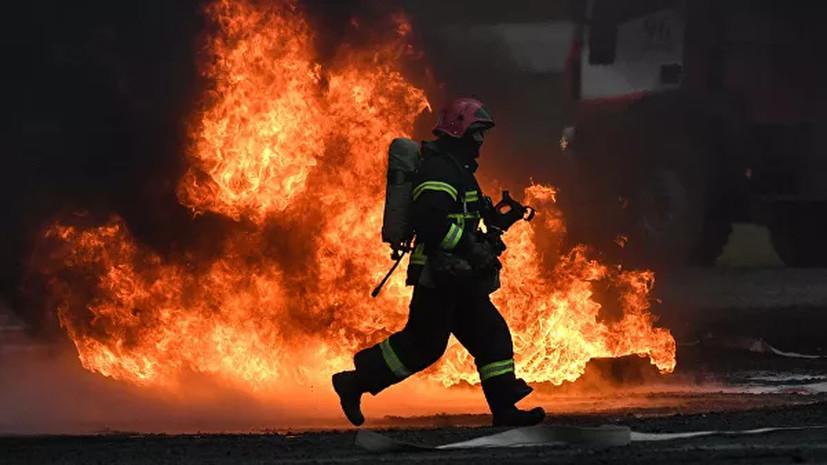 В России из-за петард произошло более десяти пожаров