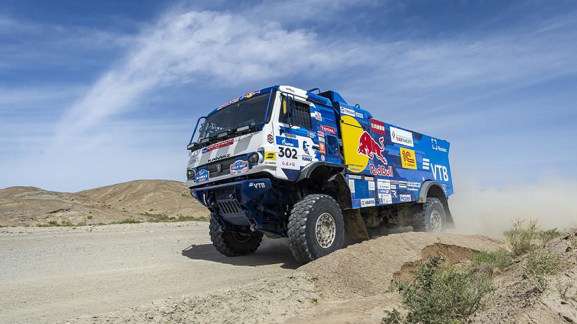 Экипаж Шибалова выиграл первый этап ралли-рейда «Дакар»