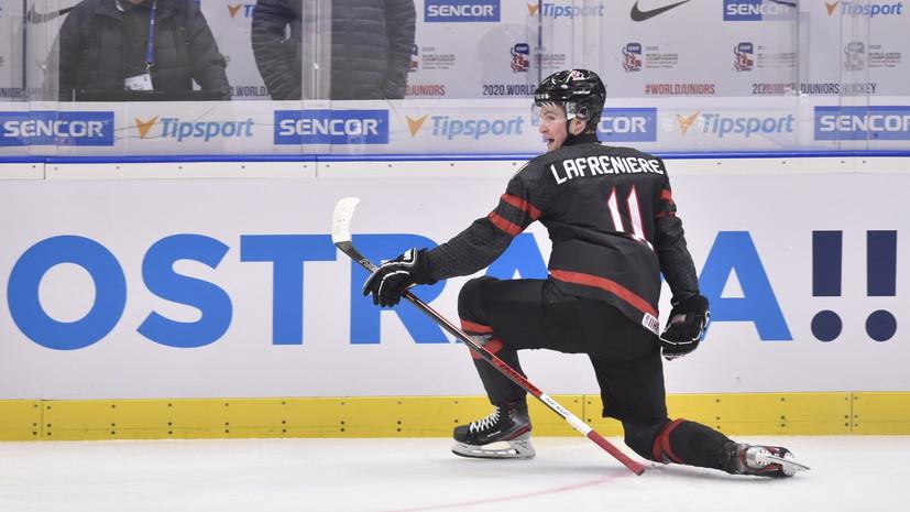 Николишин назвал лучшего хоккеиста в составе сборной Канады на МЧМ