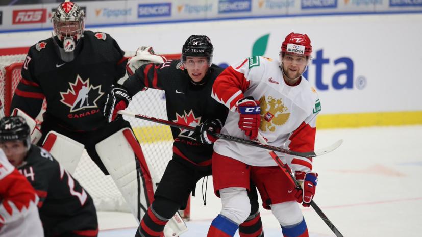 Сборная России ни разу не реализовала большинство в первом периоде финала МЧМ с Канадой
