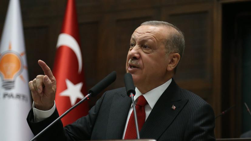 Эрдоган объявил о начале отправки войск в Ливию