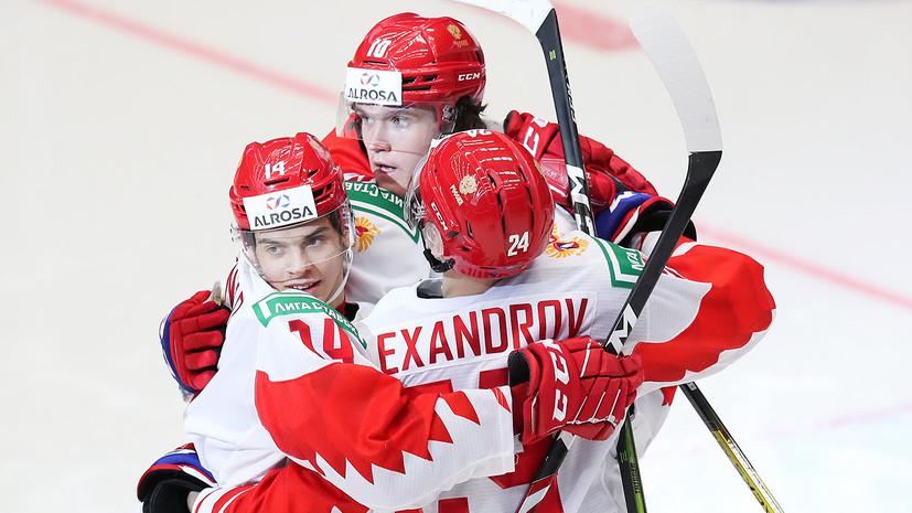 Сборная России открыла счёт в финале МЧМ с Канадой