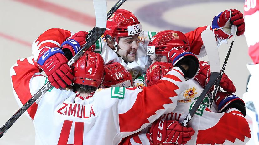 Сборная России повела в счёте финала МЧМ с Канадой