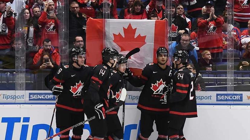 Канада сравняла счёт в финале МЧМ с Россией