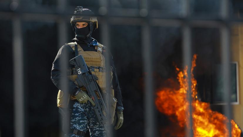 СМИ: Вблизи посольства США в Багдаде произошёл новый ракетный обстрел