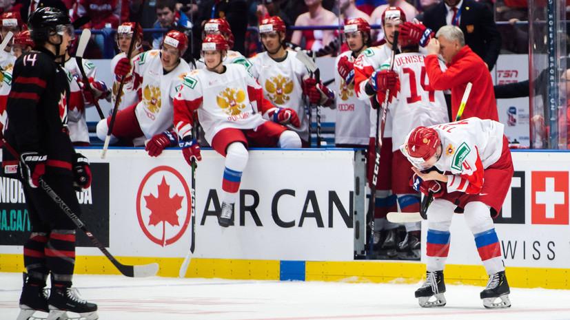 Сборная России уступила команде Канады по количеству бросков во втором периоде финала МЧМ