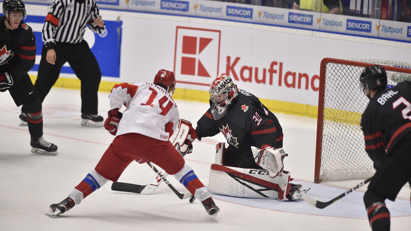 Сборная Канады повела в счёте финала МЧМ с Россией