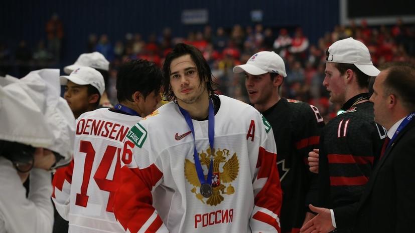 Хоккеист Романов: мы были достойны большего, чем серебряные медали