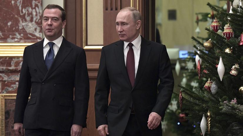 Путин и Медведев придут на рождественские богослужения