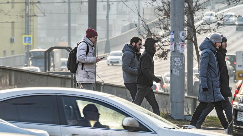 В Москве 6 января ожидается до -1 °С
