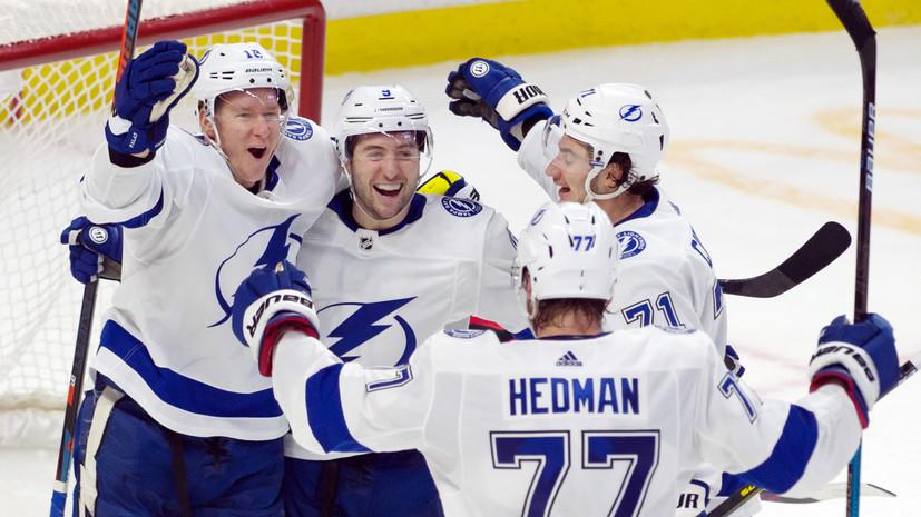 Два очка Кучерова помогли «Тампе» победить «Каролину» в НХЛ