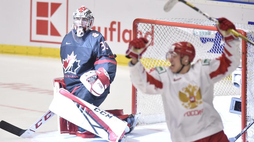 Третьяк поздравил сборную России по хоккею с серебром МЧМ-2020