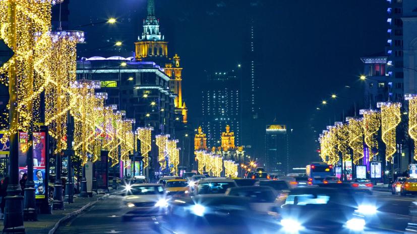 В Москве рассказали о работе транспорта в рождественскую ночь