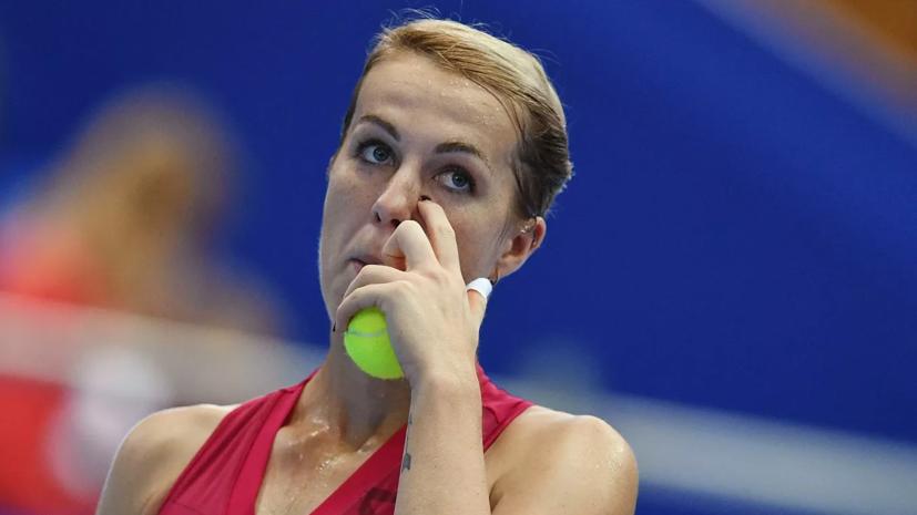 Павлюченкова поднялась на 29-е место в рейтинге WTA
