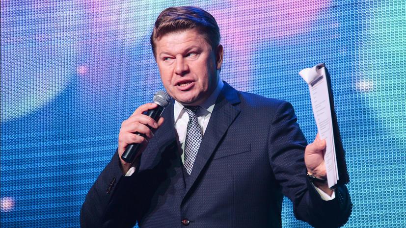 Губерниев отреагировал на курьёзную ситуацию с трансляцией финала МЧМ по хоккею