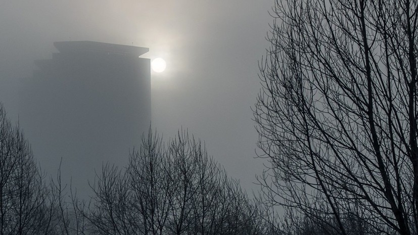 В Крыму предупредили о сильном тумане