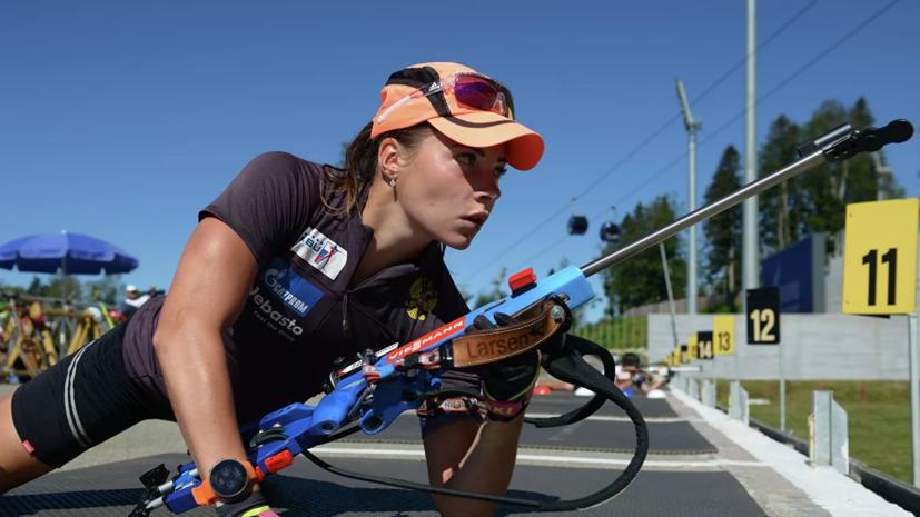 Поршнева заменит Юрлову-Перхт на этапе КМ по биатлону в Оберхофе