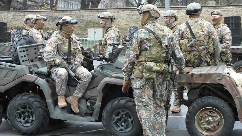 Латвийские военные прекратили обучение сил безопасности Ирака