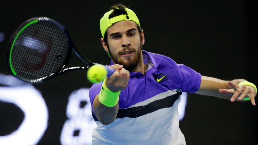 Хачанов обыграл Дурашовича на ATP Cup