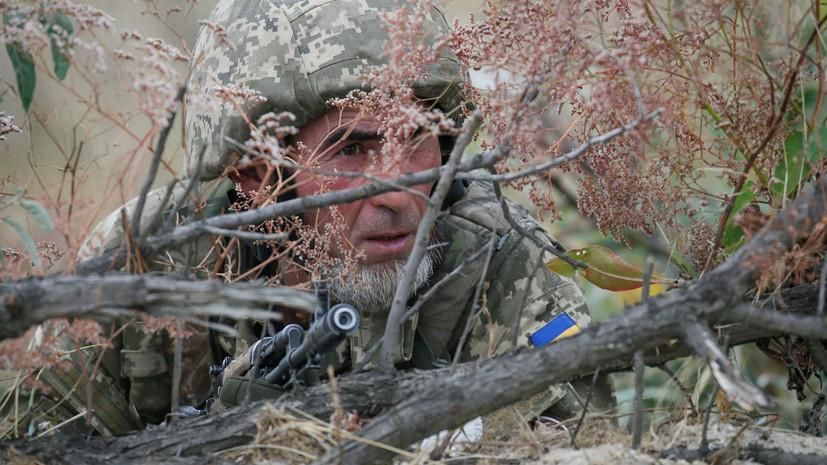 В ЛНР обвинили ВСУ в размещении военной техники в жилых районах