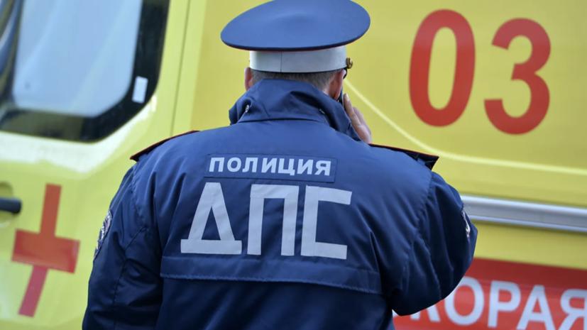 В Пермском крае более 20 машин столкнулись на трассе