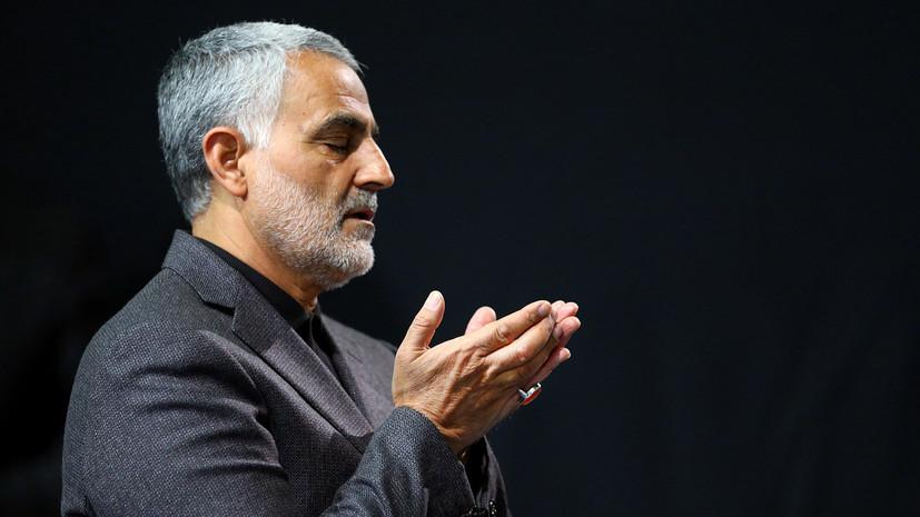 Иран подготовил 13 вариантов ответа на убийство Сулеймани