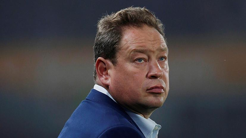 Слуцкий не стал комментировать запрет на критику футбольных арбитров
