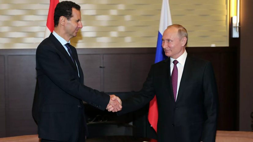 Версия: Владимир Путин посетил Дамаск ивстретился сБашаром Асадом