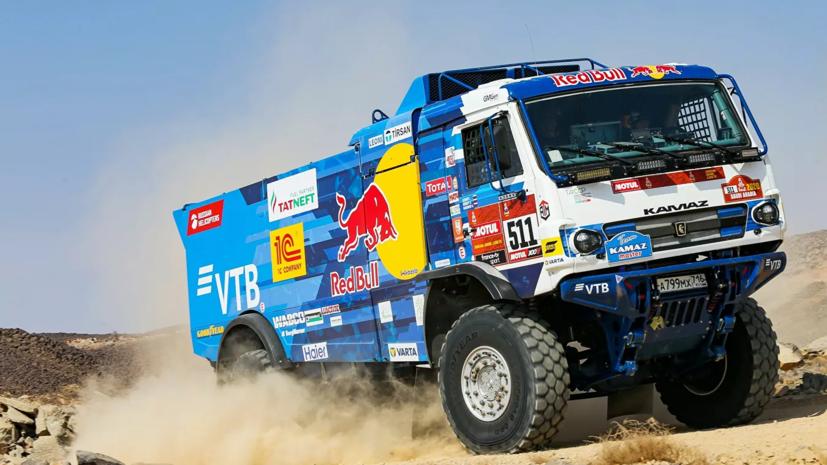 Экипаж Каргинова выиграл третий этап ралли-рейда «Дакар»