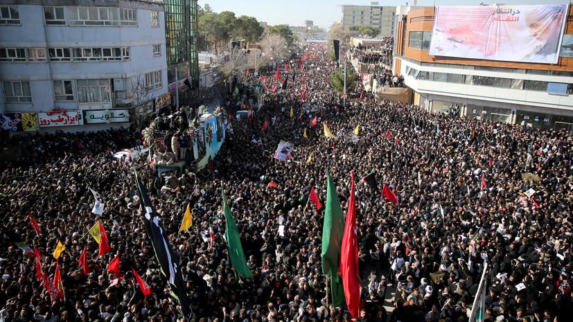 СМИ: Число погибших в результате давки в Иране увеличилось до 40