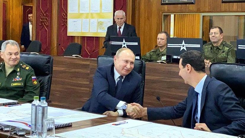 «Пройдено огромное расстояние на пути восстановления государственности»: о чём говорили Путин и Асад в Дамаске