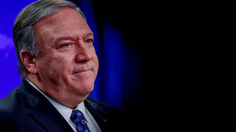 Помпео: США не верят, что Сулеймани был в Багдаде с мирной миссией