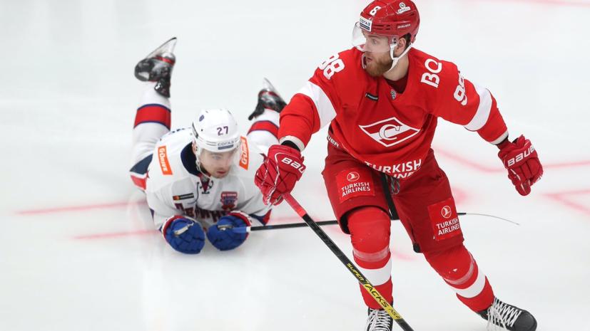 «Спартак» впервые за семь лет на своём льду победил СКА