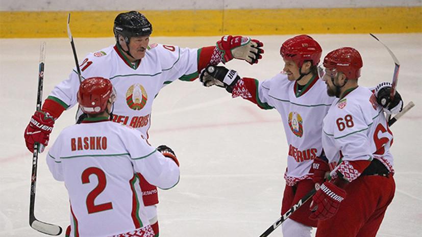 Команда Лукашенко победила Россию в финале Рождественского турнира