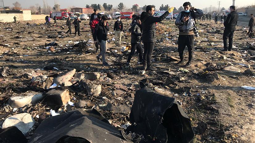 «Страшная весть с Ближнего Востока»: что известно о крушении самолёта авиакомпании МАУ в Тегеране