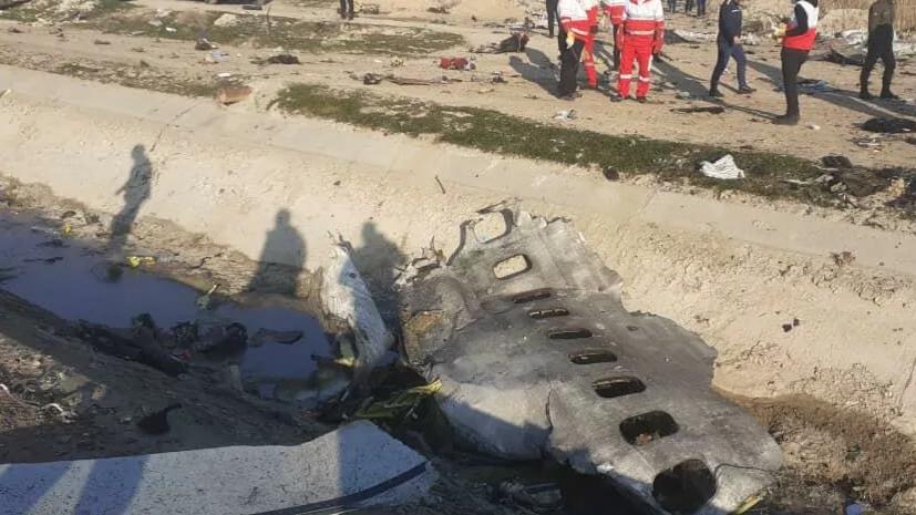 Подробности о крушении украинского авиалайнера под Тегераном