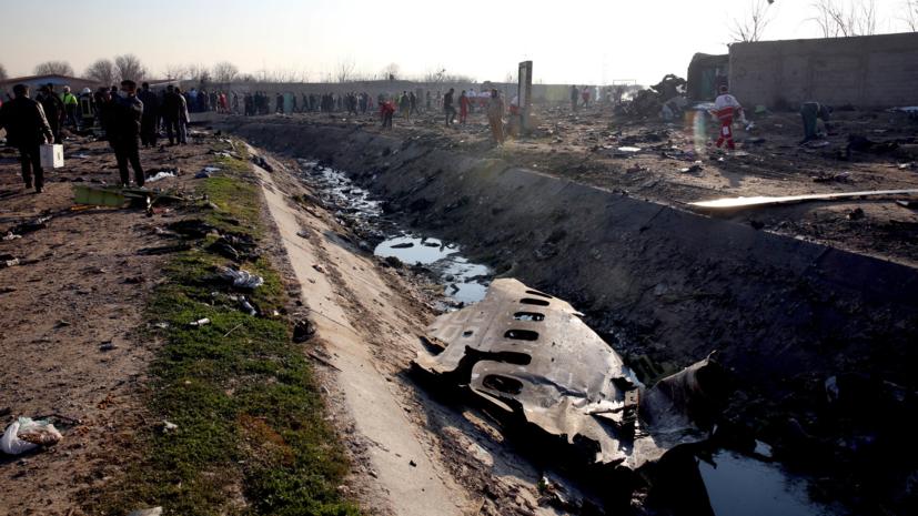 Иран признал, что его военные сбили украинский самолет