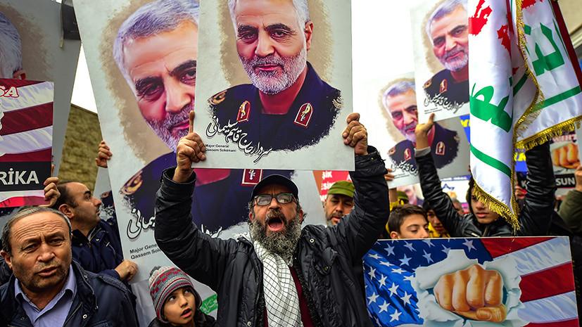 «Будем защищать себя от любой агрессии»: в Иране готовы принять меры в случае ответа США на удар по базам