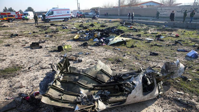 На Украине возбудили уголовное дело после авиакатастрофы в Иране