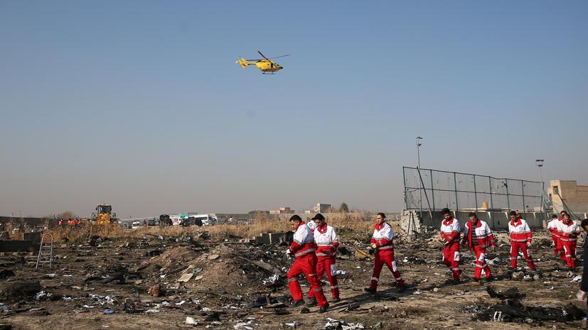 В компании Boeing прокомментировали крушение самолёта в Иране